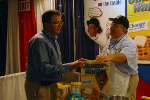 obama waffle selling