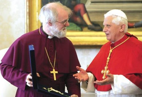Pope Rowan gift presentation P3 1