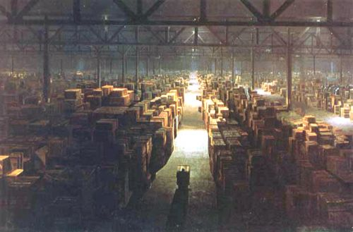 Raiders Of The Lost Ark Government Warehouse new