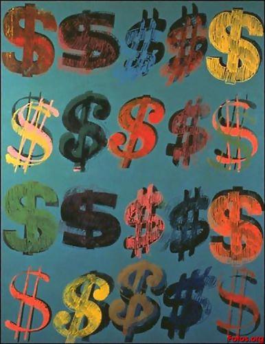 Warhol Dollar Signs