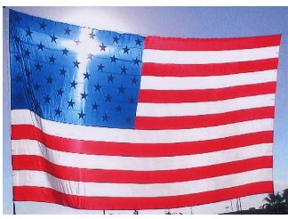 cross in flag cropped small