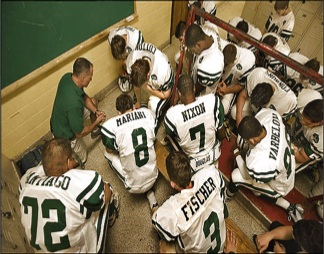 football prayer