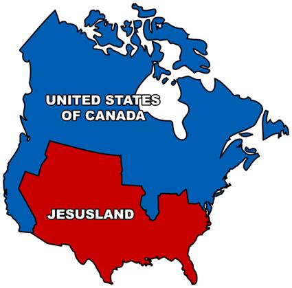 map jesusland
