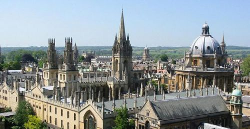 oxford aerial photo