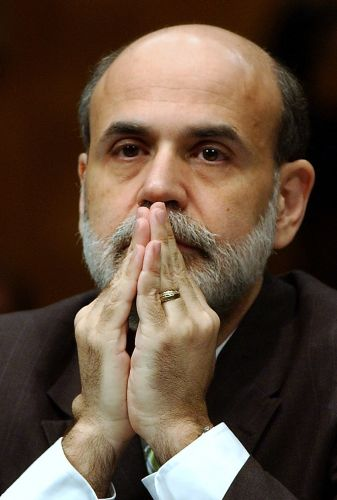 prayingBernanke