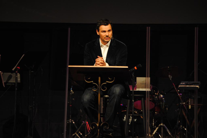 Stan Mitchell, pastor of GracePointe Church