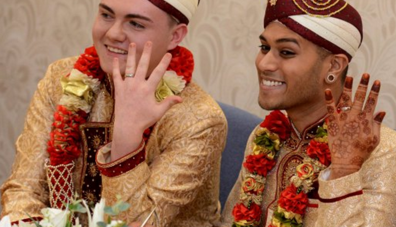 It would appear first uk same sex muslim wedding featured nice it would appear first uk same sex muslim wedding featured nice clothes and junglespirit Images