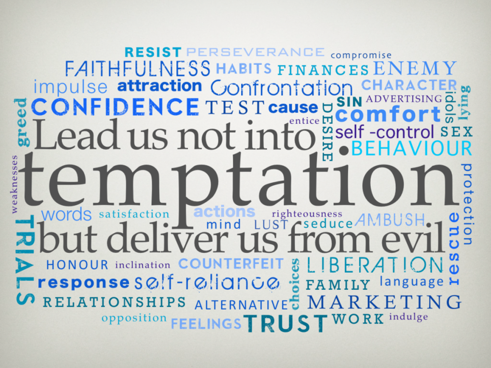 Those familiar Lord's Prayer phrases at issue: Does God lead