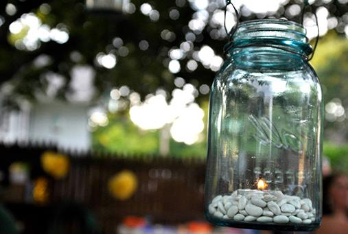 Hanging Jar Candle
