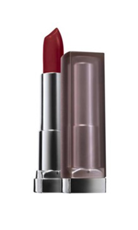 Lipstick:  Maybelline Color Sensational Creamy Matte Lip Color in Devine Wine