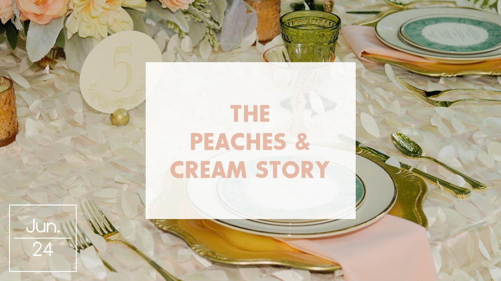 Peaches and Cream Color Story