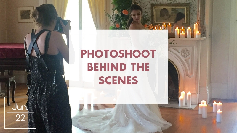 Behind the Scenes! PV Spring Shoot