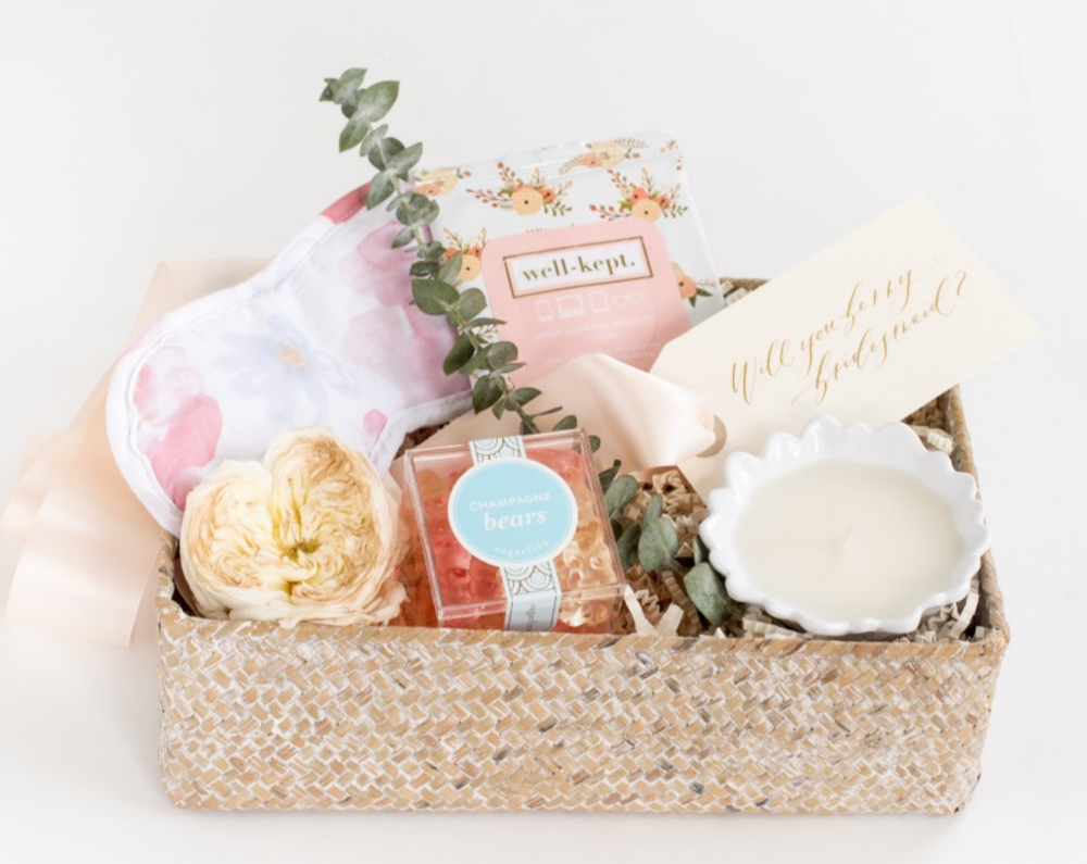 Image: Laura Metzler Photography | Gift Basket: Marigold & Grey