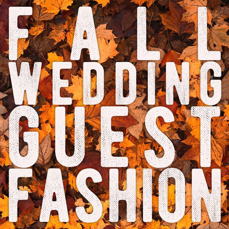 Fall Wedding Guest Fashion