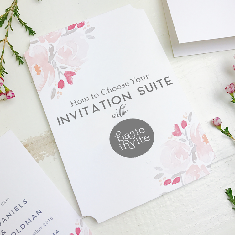 How to Choose Your Invitation Suite with Basic Invite — Parsimony ...