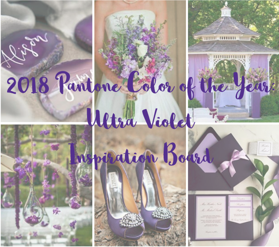 2018 Pantone Color of the Year Inspiration Board