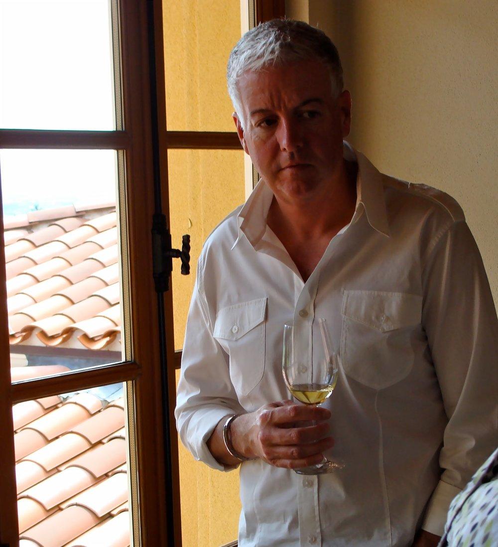 Michael Newsom in Oregon Wine Country