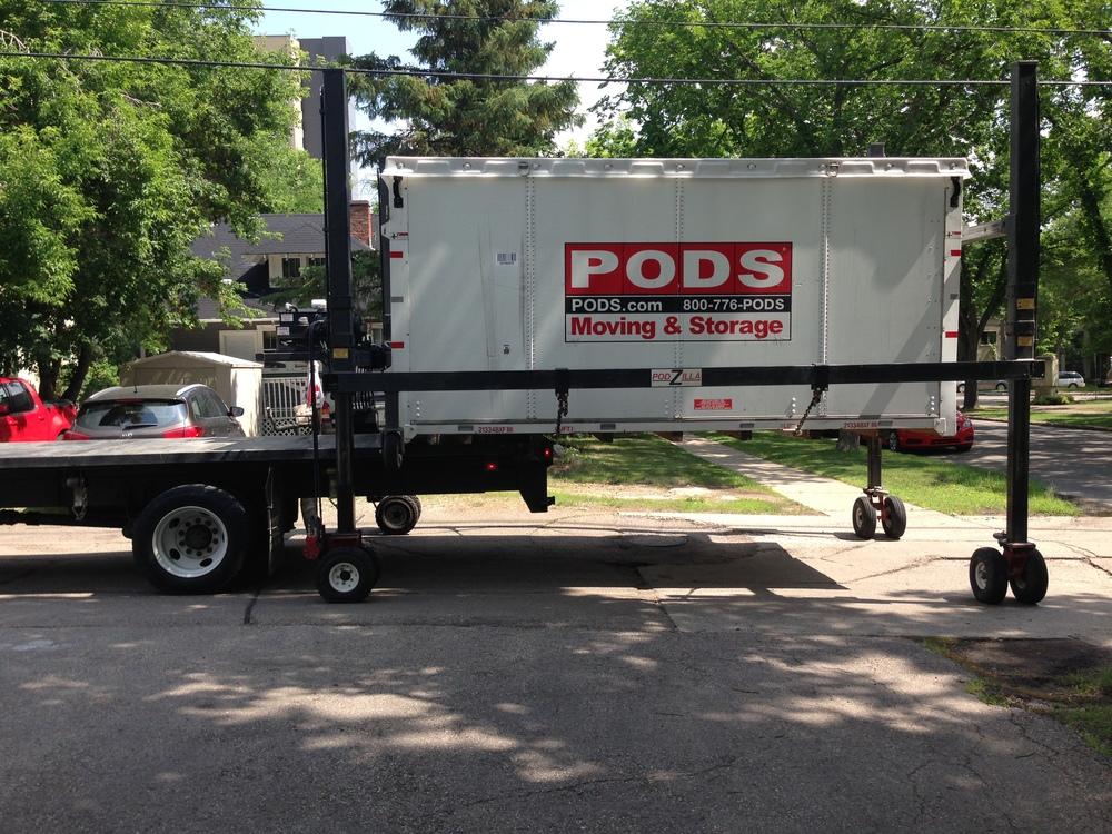 Pod Unloading 2