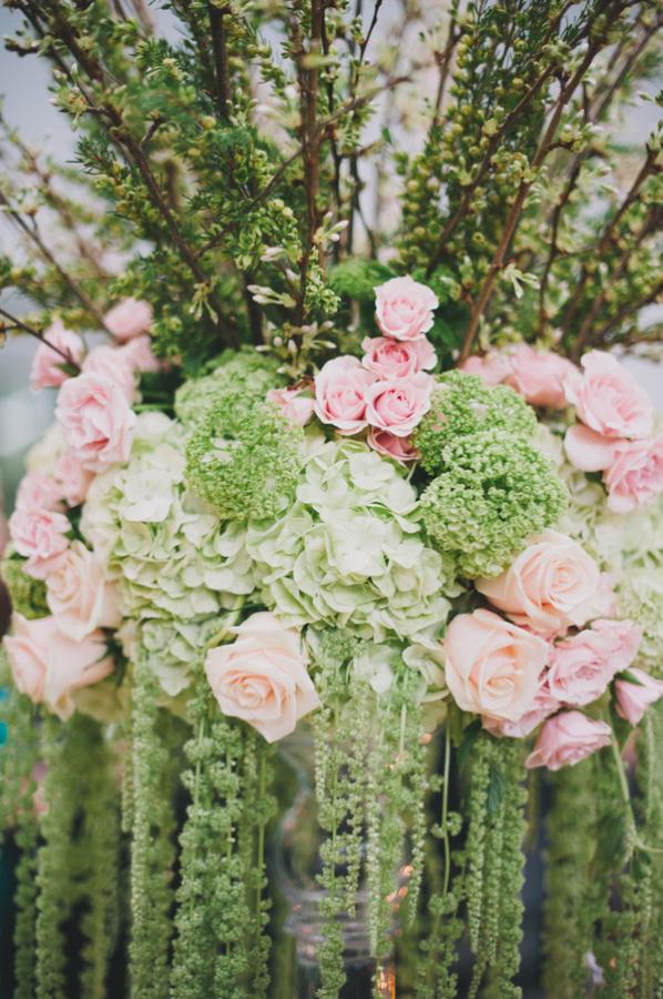 Pink-and-Green-Wedding-Arrangement-598x900