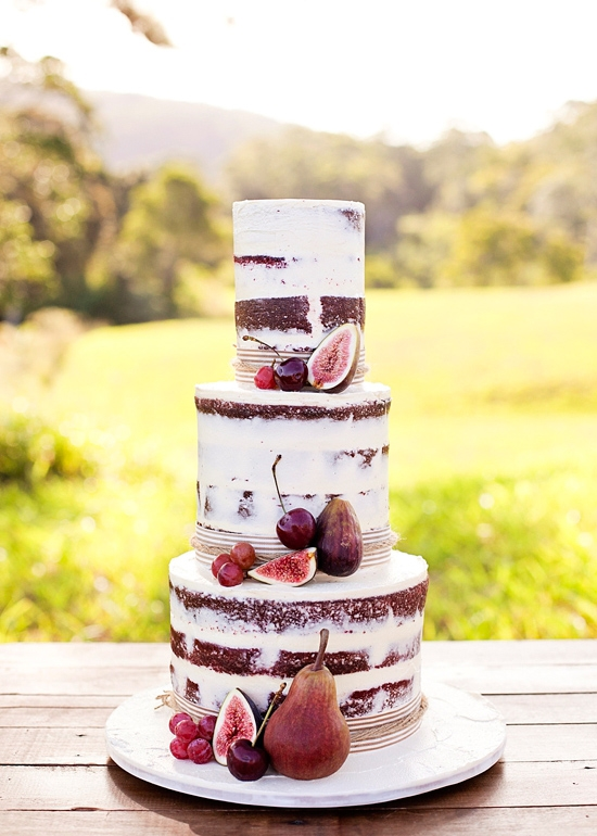 A Gorgeous Fête - Montreal Wedding Planner : The Naked Cake - Back ...