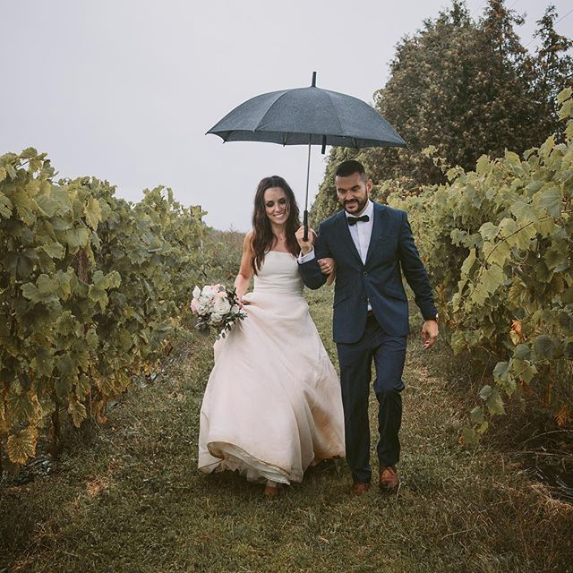 A little less rainy for your one year anniversary @nadia_pouliot ! Happy anniversary! 9.3.17