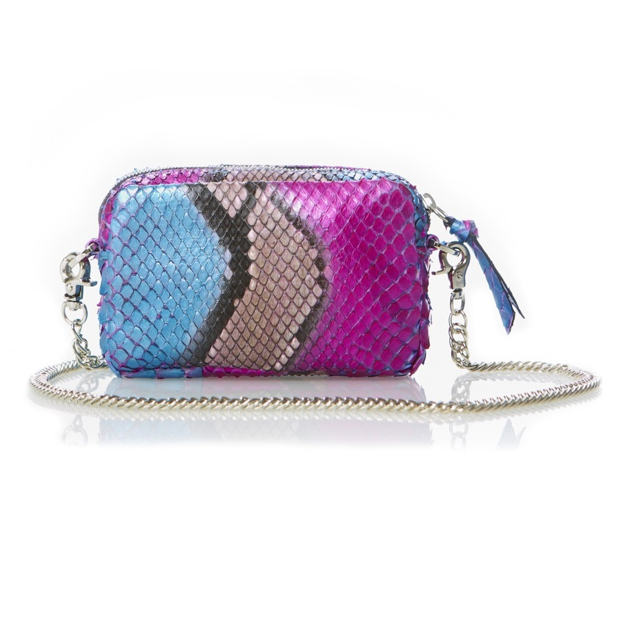 CZ_Wallet Pouch with Chain Metallic Blue_Pink Small Res.jpg
