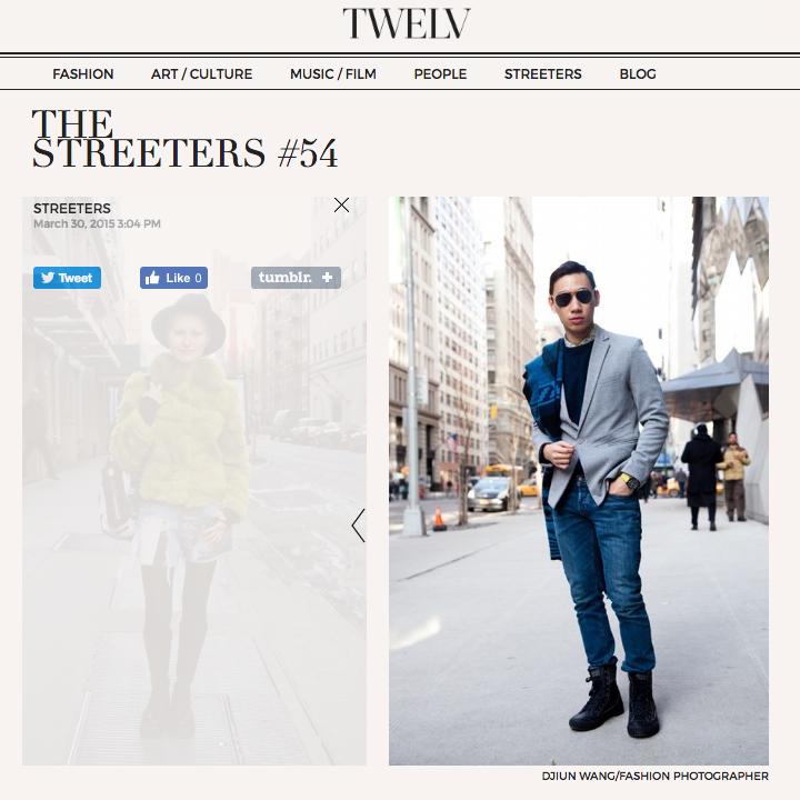 TWELV: STREET STYLE