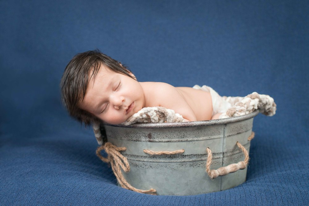 Ricardo & Angela Photography | Ivaan Newborn Session in Brampton, ON