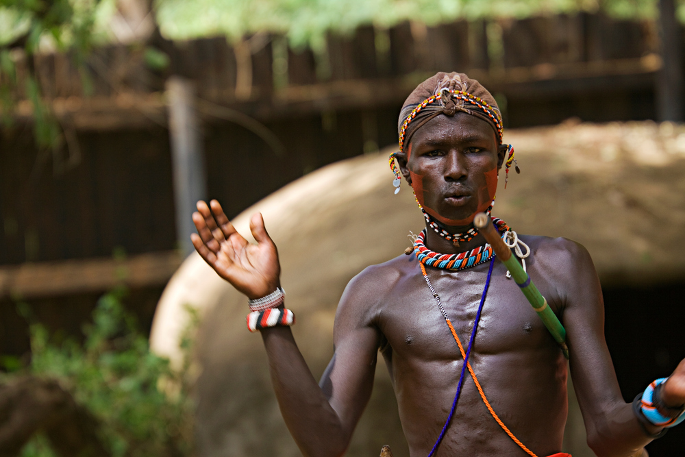 Ceremonial Dancer, Samburu National Park