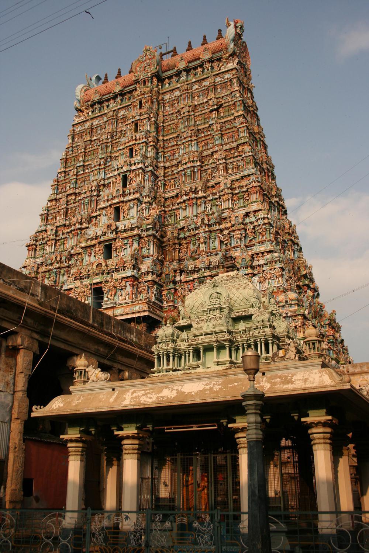 Gopuram, Tiruchirapalli, India
