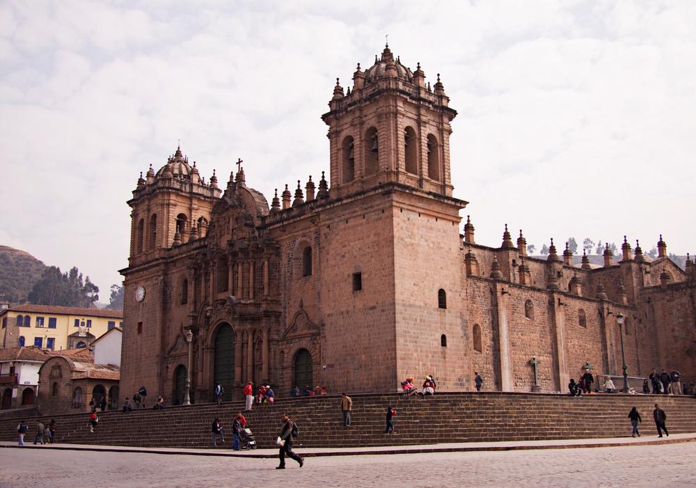 Cathedral, Plaza de Armas