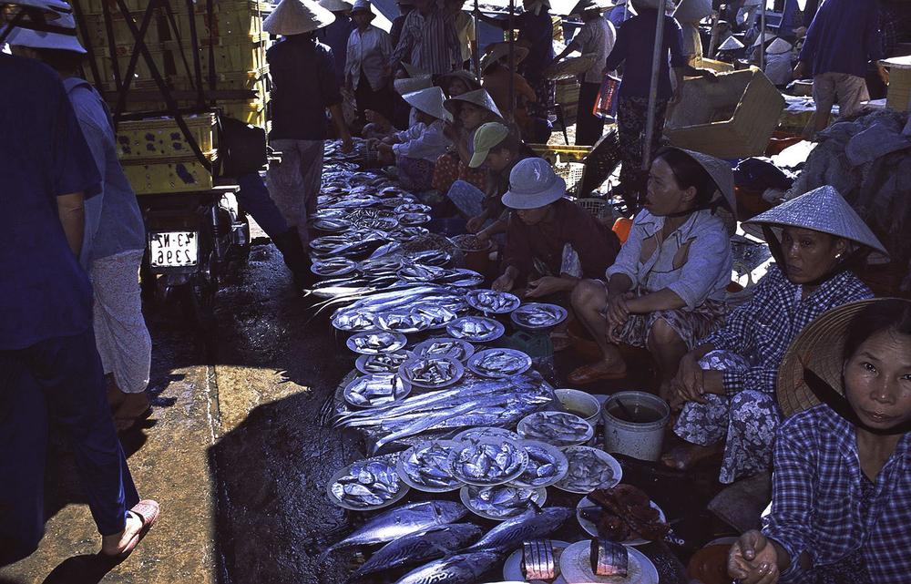 Ninhkieu Market, Mekong Delta