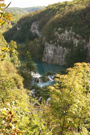 Plitvice Lakes National Park Small Waterfalls