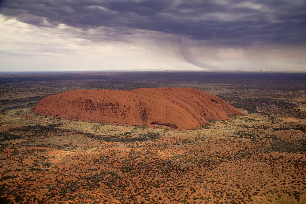 Uluru, Aerial View