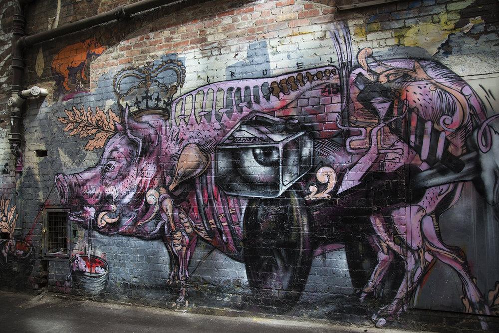 Street Art, Alleyways of Melbourne