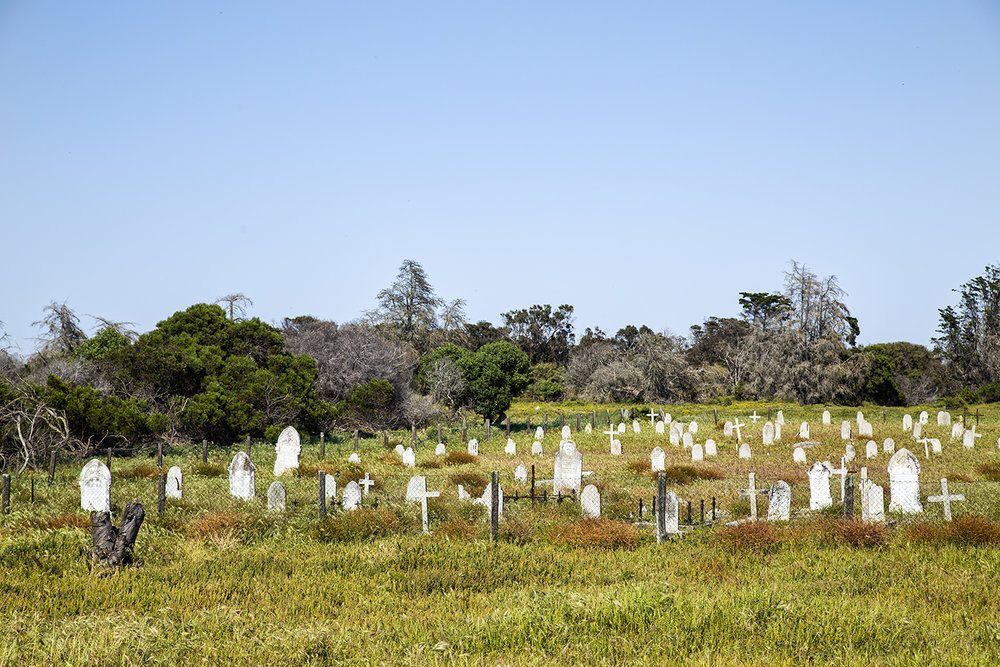 Leper Colony Graveyard, Robben Island
