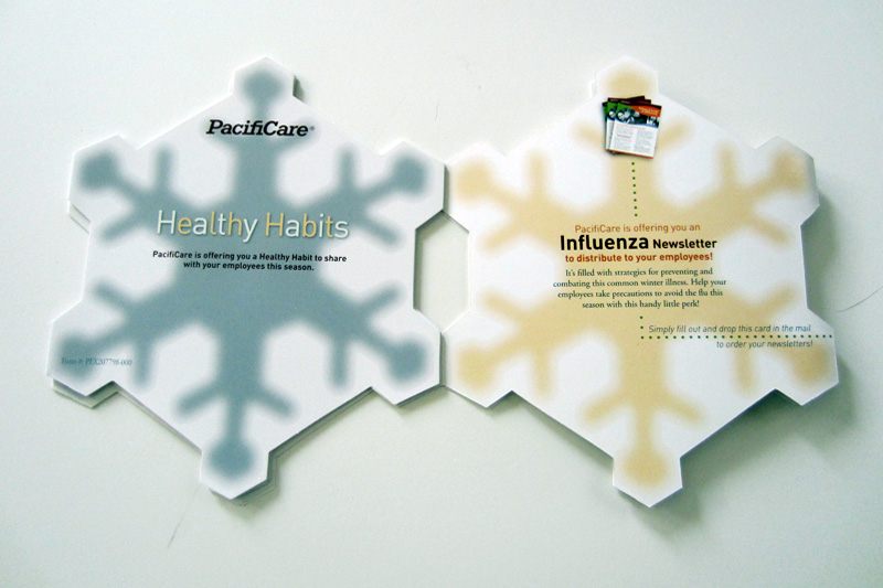 PacifiCare Snowflake Mailer