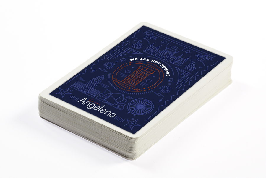 Hotel Angeleno Branded Playing Cards