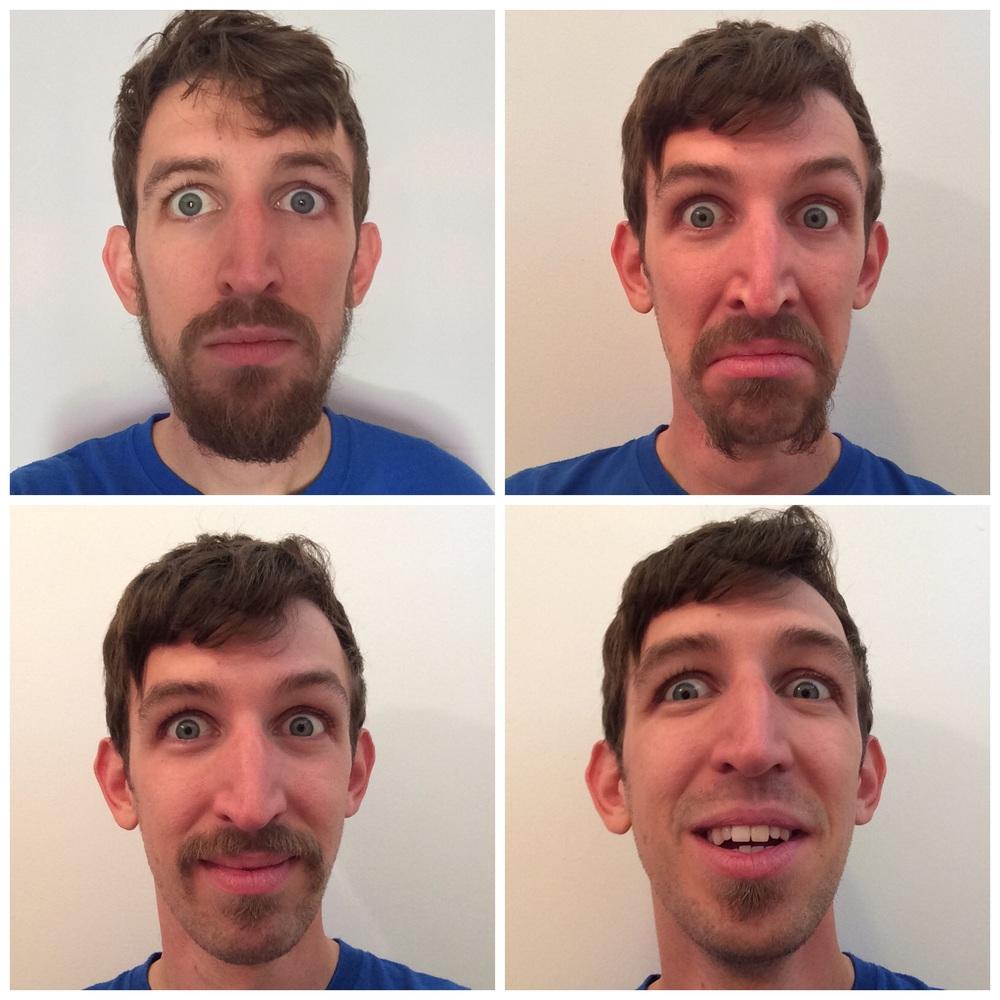 Ahhh....I look insane...