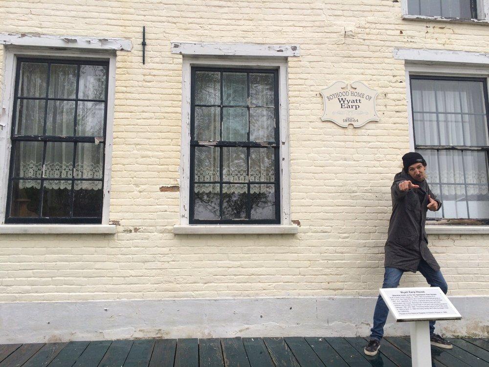 Wyatt Earp House.Pella, IA. 2016.