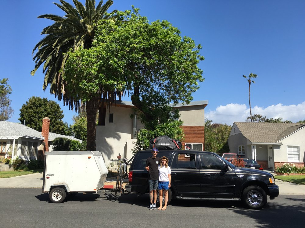 Last photo of our home in Santa Monica, CA. 2016.