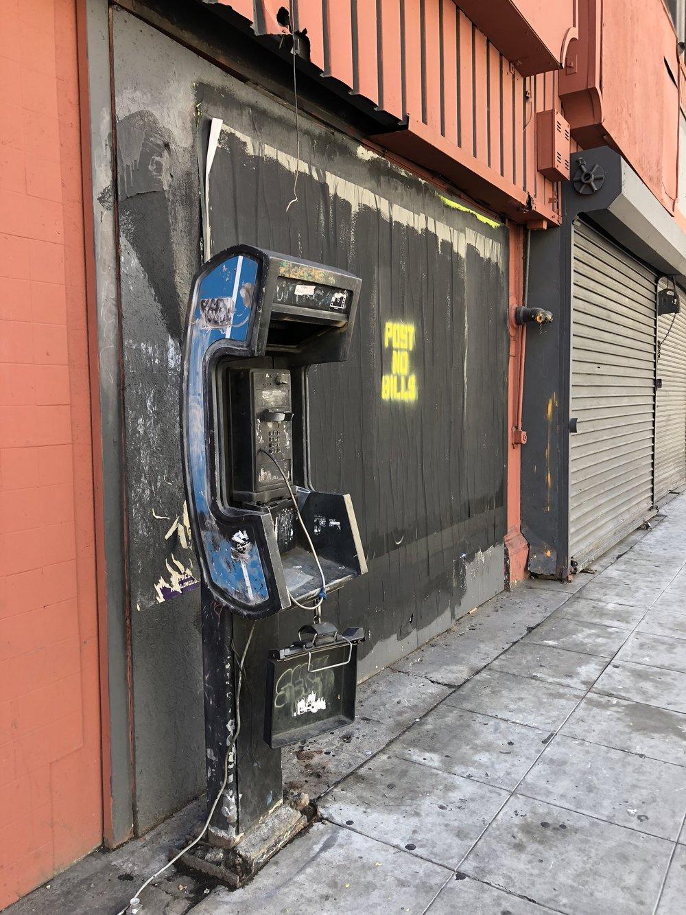 Let's talk. -Downtown LA - Shot on iPhone - March 2018