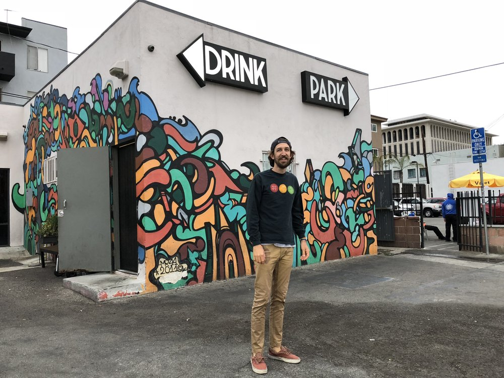 Drink or Park? - Koreatown - Los Angeles - June 2018