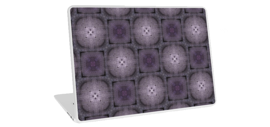 """Purple buttons"" laptop casing, available at Redbubble store: http://www.redbubble.com/people/domcia/works/14480683-purple-buttons?p=laptop-skin"