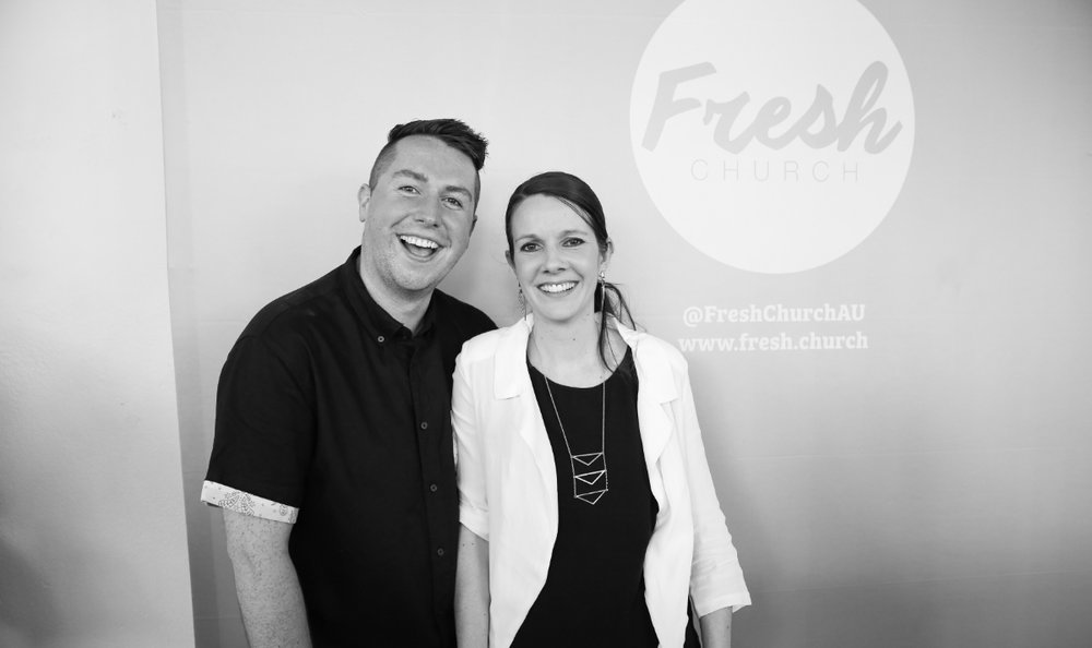 Pastor Aaron & Jacqui Kelly, Fresh Church