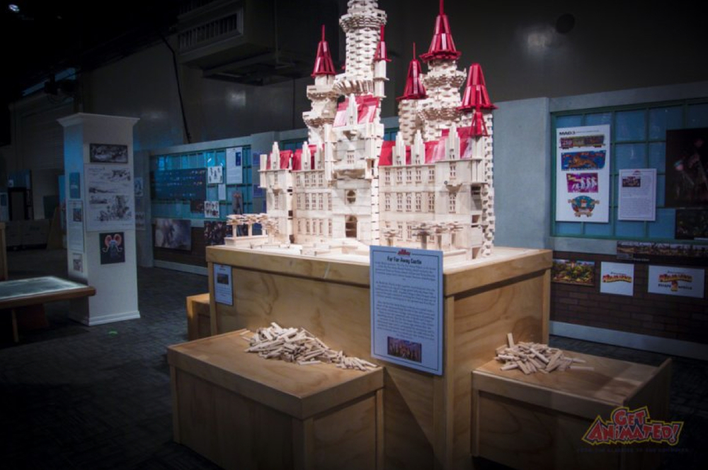 Shrek castle in exhibit.jpg
