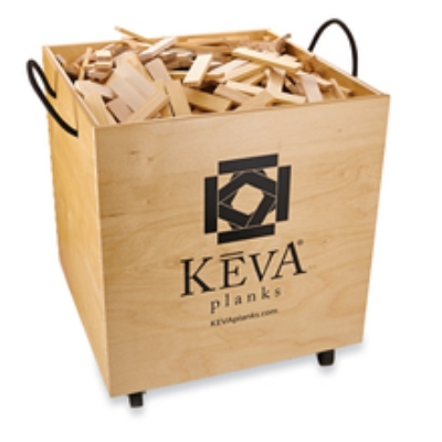 KEVA Maple 1000 with rolling Bin                 Structures & Contraptions                                             $399.95        Made in the USA