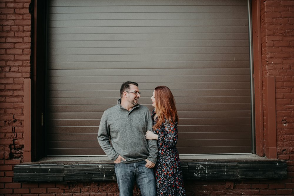 CHAUNCY + TRICIA - NORTHEAST MINNEAPOLIS BREWERY ENGAGEMENT