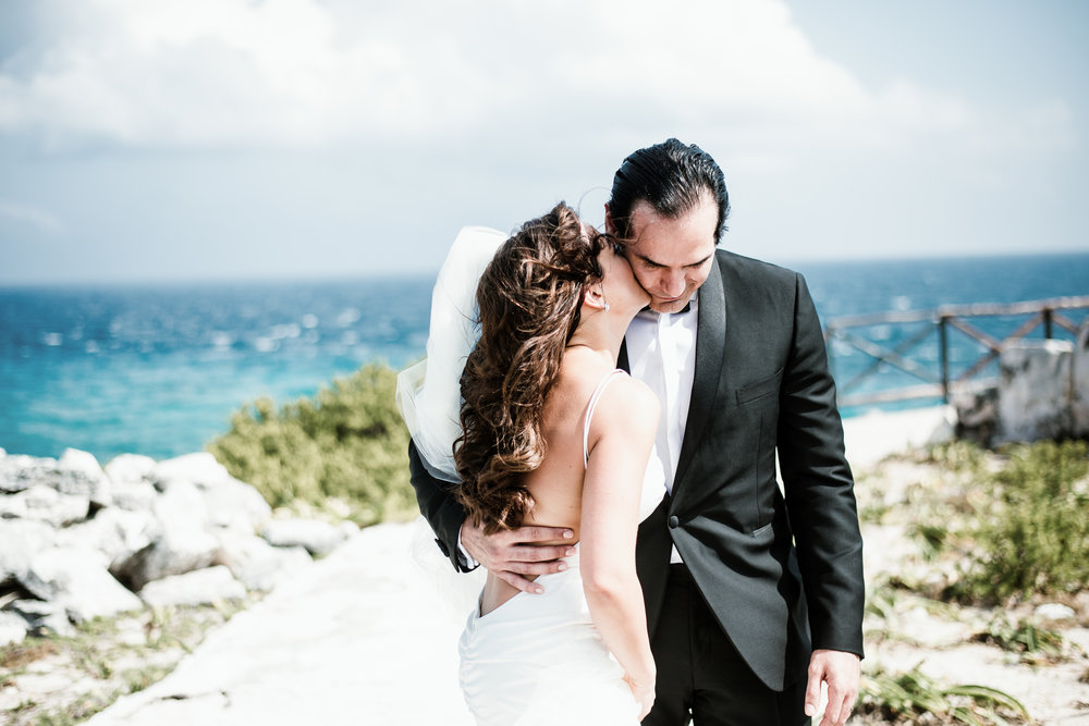 GISCARD + LOUISA - ISLA MUJERES MEXICO WEDDING