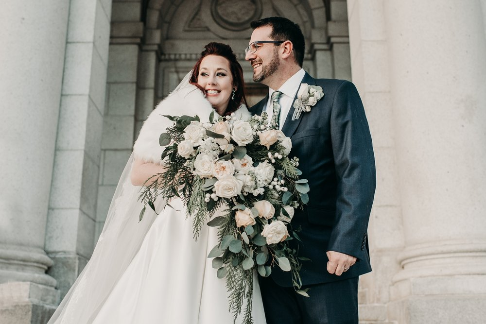 CHAUNCY + TRICIA - BASILICA MINNEAPOLIS WINTER WEDDING